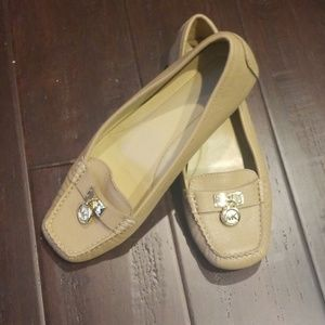 Women's Michael Kors Beige Shoes 8